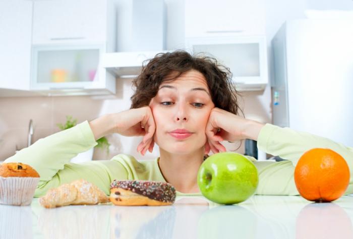gesundes essen sich richtig ernähren gute nahrung schlechte nahrung
