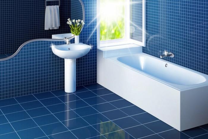 Wandgestaltung Bad 35 Ideen Für Badezimmergestaltung Mit Fliesen