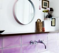 Wandgestaltung Im Bad U2013 35 Ideen Für Badezimmergestaltung Mit Fliesen