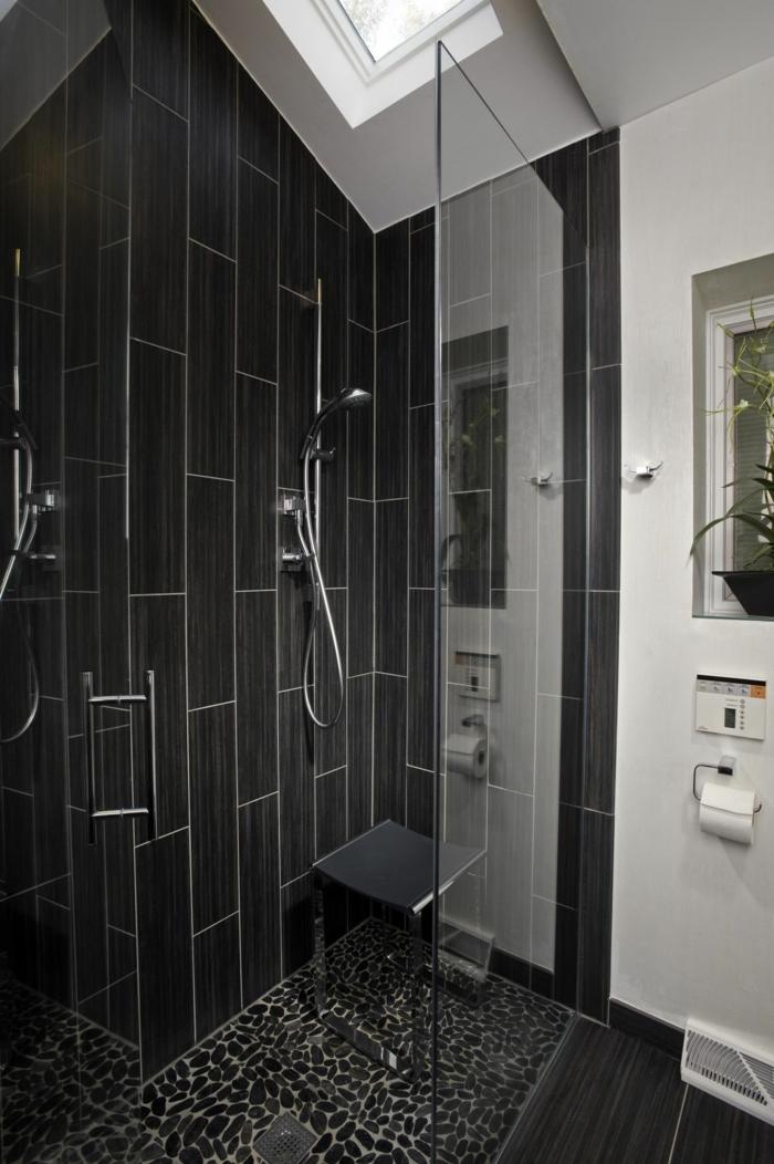 Wandgestaltung im Bad – 35 Ideen für Badezimmergestaltung mit Fliesen