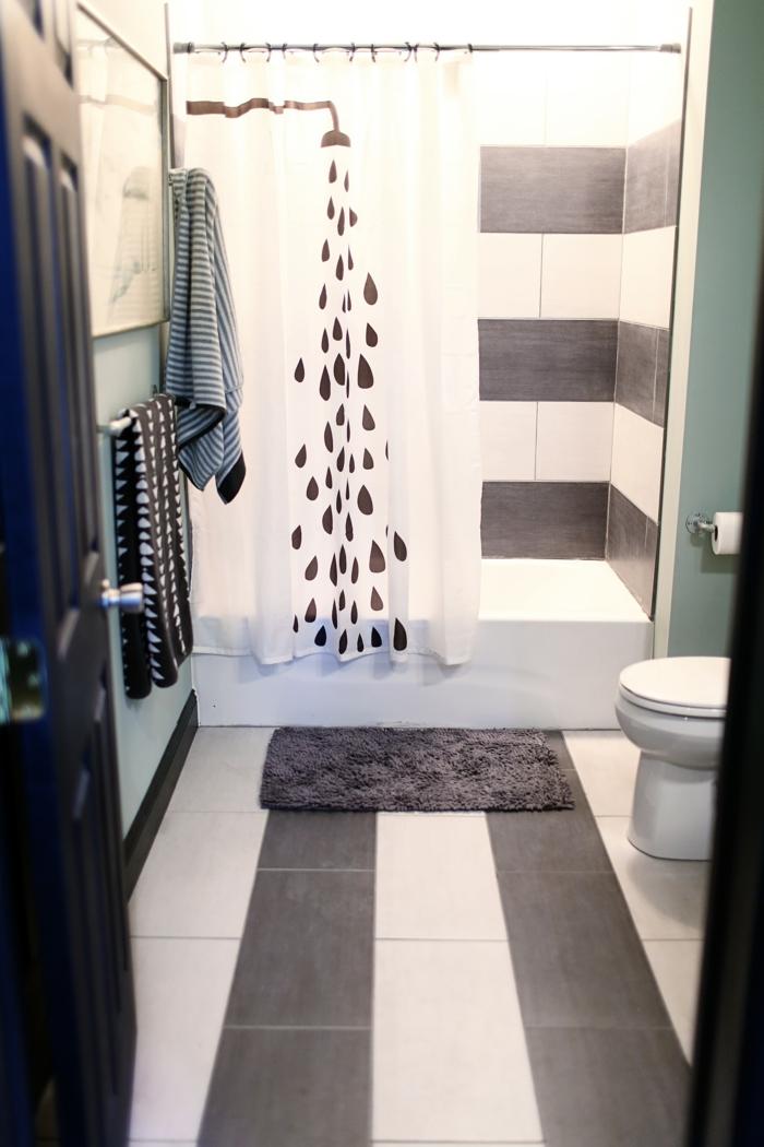 Wandgestaltung Bad - 35 Ideen für Badezimmergestaltung mit ...