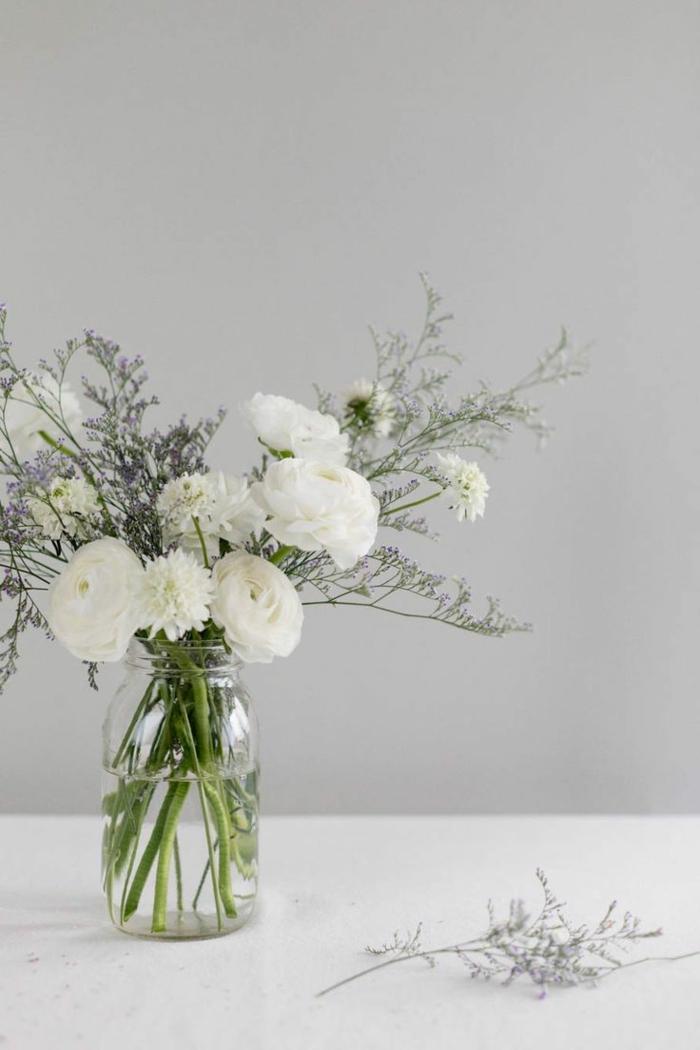 dekoideen tisch kreative dekoideen einmachglas vase