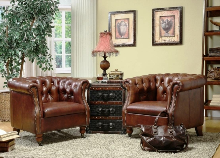 15 stilvolle chesterfield sessel f r den gehobenen geschmack. Black Bedroom Furniture Sets. Home Design Ideas