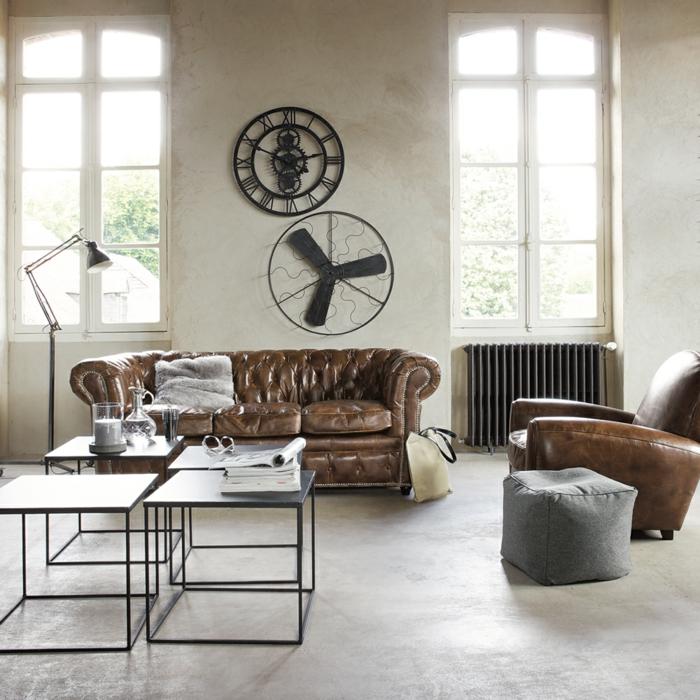 Wohnzimmer einrichten braun schwarz  Wohnzimmer einrichten braun schwarz ~ Ideen für die ...