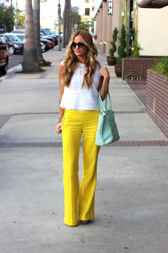 bestbewerteter Beamter Luxus-Ästhetik modische Muster Moderne lange Damenhosen 2016 - Schritt mit den Tendenzen halten