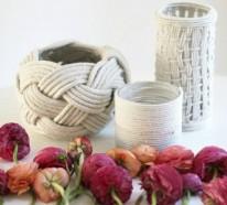 50 DIY Deko Ideen und Einrichtungsbeispiele mit und aus Seil