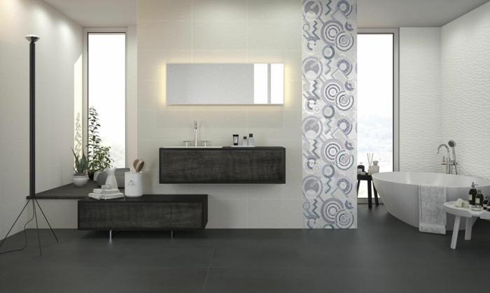 einrichtungsbeispiele wandgestaltung badezimmer cevisama baikal