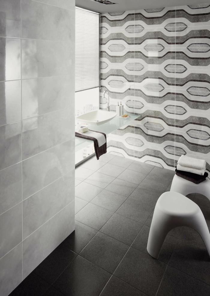 einrichtungsbeispiele wandgestaltung badezimmergestaltung fliesen