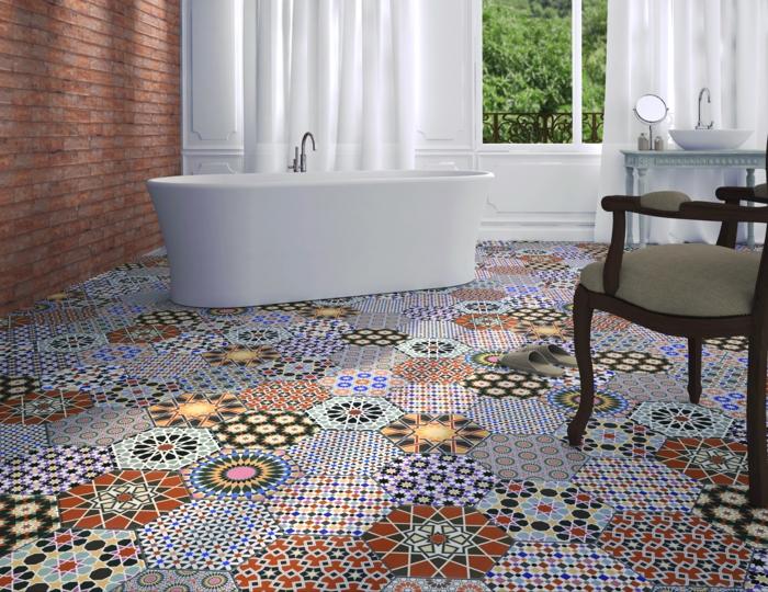 einrichtungsbeispiele wandgestaltung mozaik