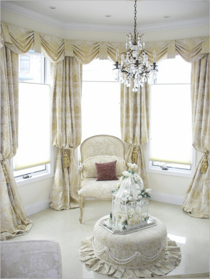 einrichtungsideen gardinen luxuriös wohnideen
