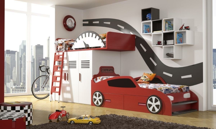 50 wohnideen kinderzimmer wie sie den raum optimal ausnutzen. Black Bedroom Furniture Sets. Home Design Ideas