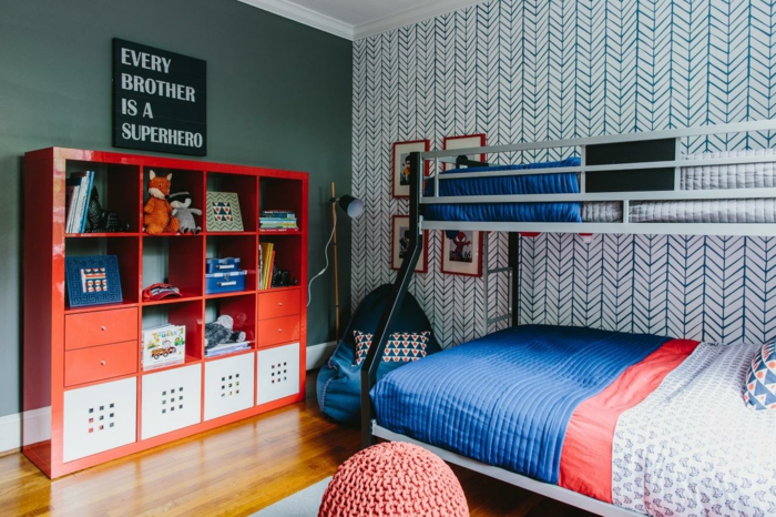 einrichtungsideen kinderzimmer jungenzimmer gestalten wandtapete