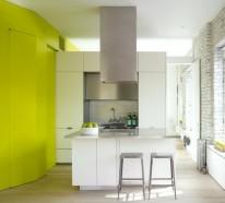 optimale kucheneinrichtung raum einrichtung, einzimmerwohnung einrichten - tolle ideen von spezialisten, Design ideen