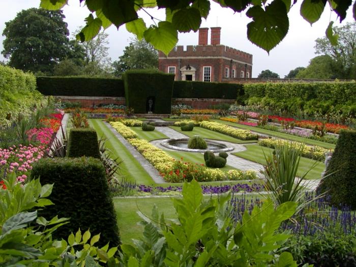 englischer garten-ein spaziergang durch die jahrhunderte, Garten ideen
