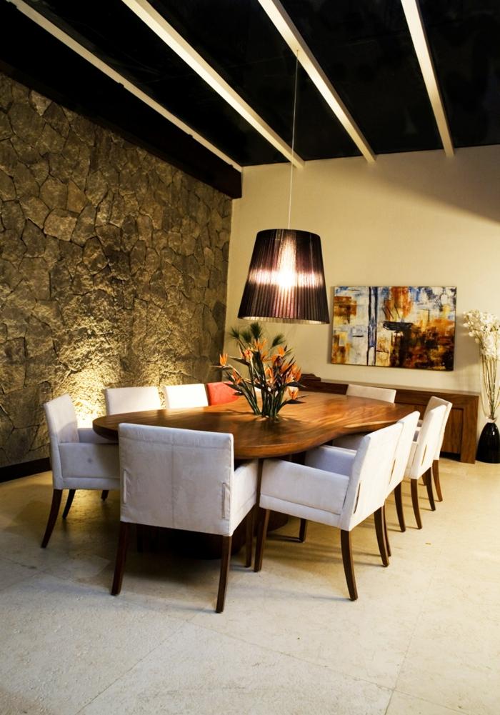 Esszimmer modern einrichten  Modernes Esszimmer einrichten - 77 Ideen für Ihre Esszimmereinrichtung