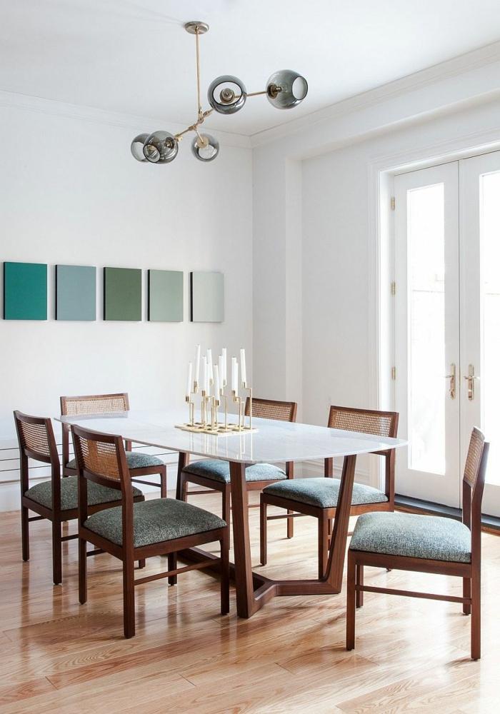 Esszimmer grün braun: esszimmer 8 weiß un für eine minimalistisch ...