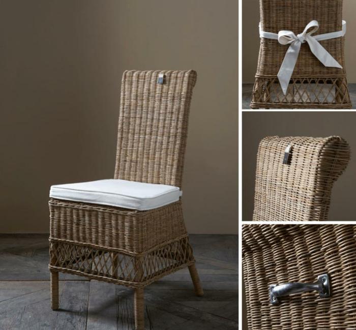 esszimmer stühle rattan st.malo riviera maison rustikaler stil