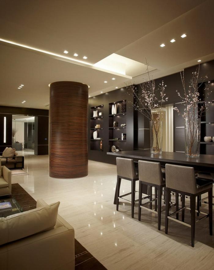 esszimmermöbel moderne einrichtung tischdeko deckenbeleuchtung