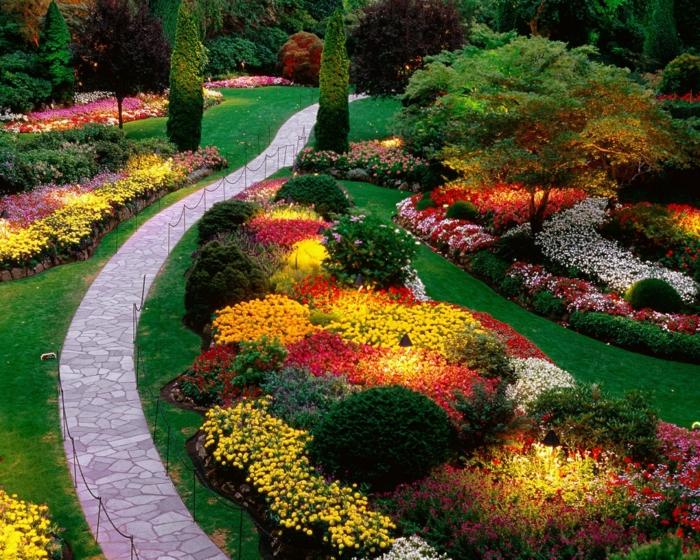 121 Gartengestaltung Beispiele Für Mehr Begeisterung Im Garten ...