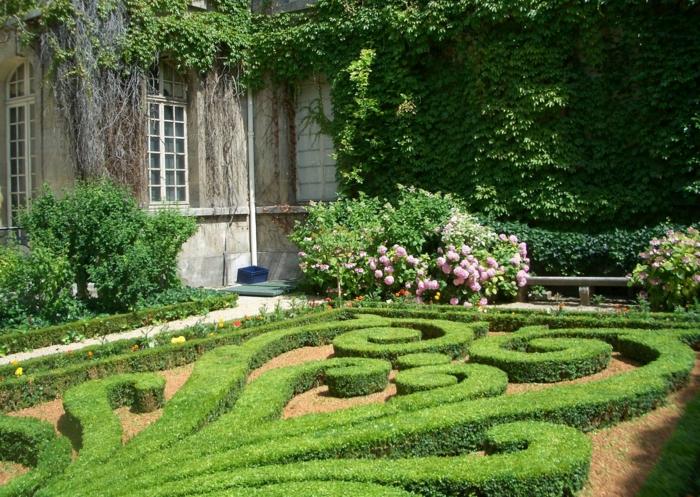 Gartengestaltung in franz sischem stil die basisregeln for Buchsbaum garten gestalten