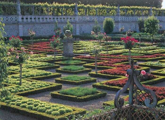 Magnificent garden design with Renaissance influences