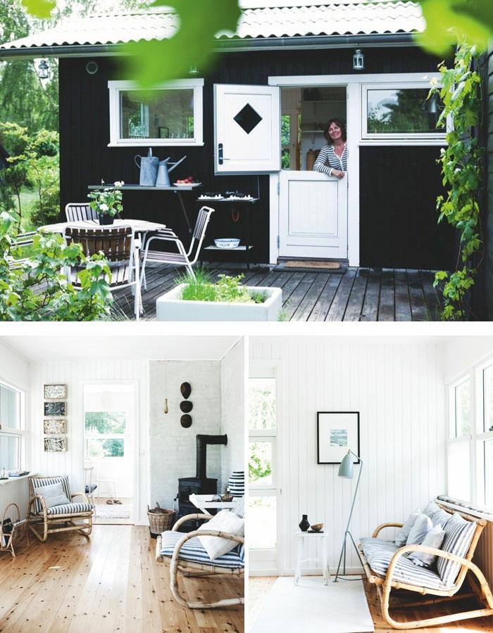 gartenhaus ideen groß holz diy inspiration