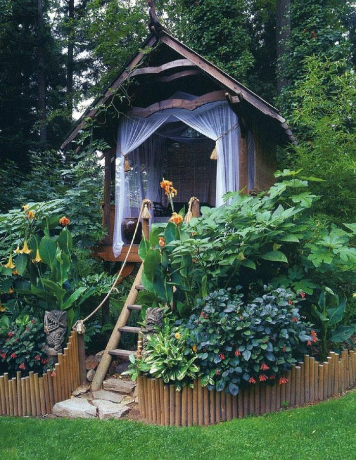 Gartenhaus Inspiration - 23 Originelle Ideen Für Ihre Ruhe-oase Im ... Gartenhaus Ideen