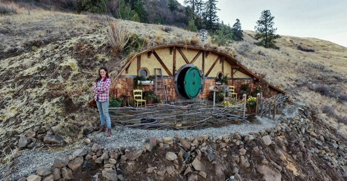 Home Designs For Hobbit Style Home