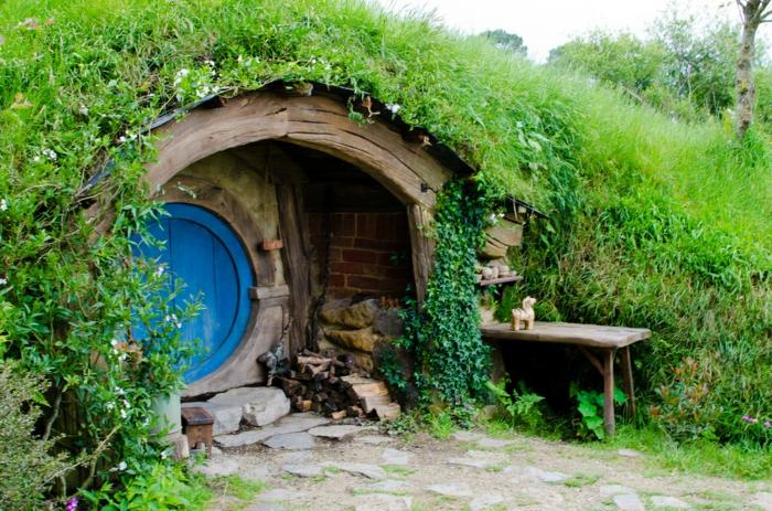 Gartenhaus selber bauen willkommen im auenland - Wandlampe selber bauen ...