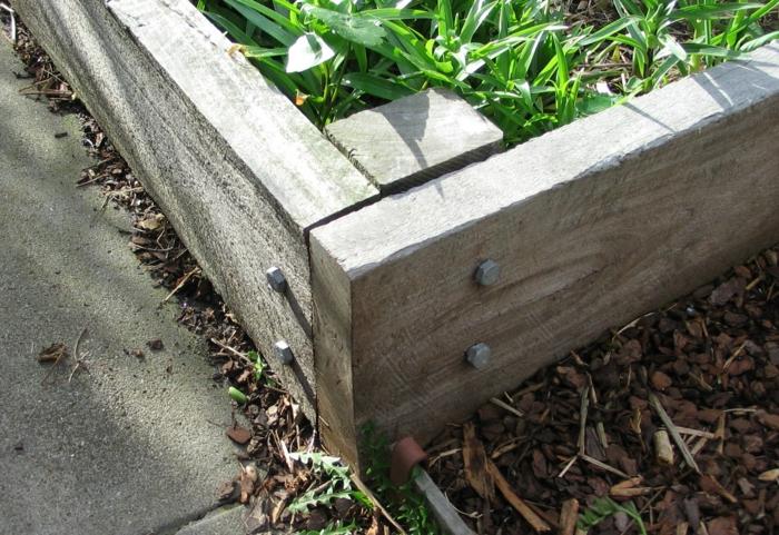 gartenideen mit holz – rekem, Garten und Bauen