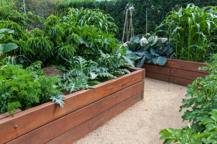 Hochbeete anlegen und die produktivit t im kleinen garten for Garten im herbst gestalten