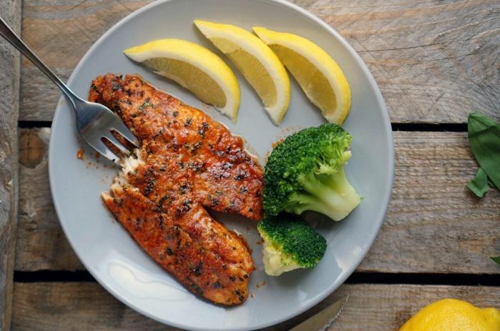gesund abnehmen gesunde ernährung fisch essen