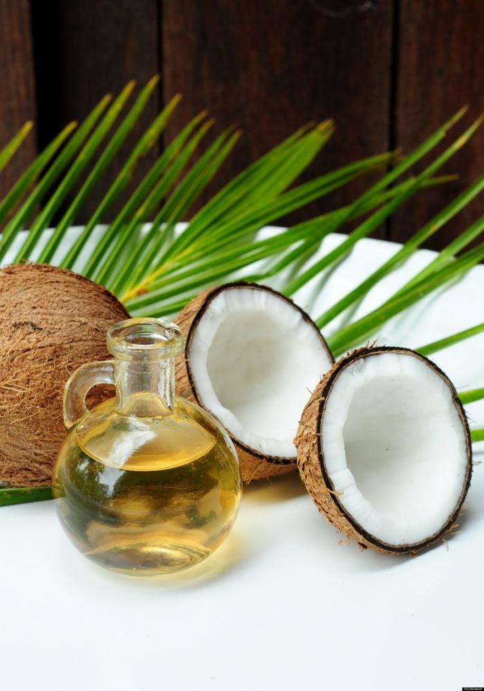 gesund kochen gesunde fette nah kokosnuss oel