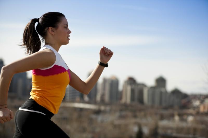 gesundes Leben führen gesunde Gewohnheiten Morgenroutine Joggen