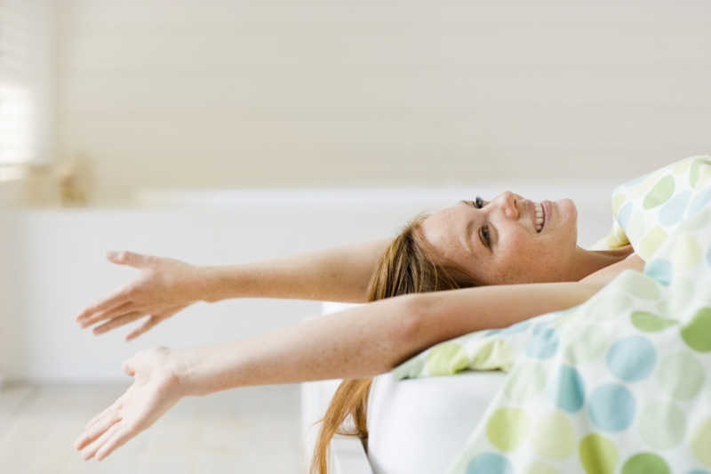 gesundes Leben führen gesunde Gewohnheiten Morgenroutine früh aufwachen