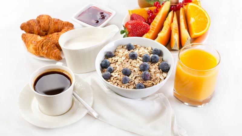 gesundes Leben führen gesunde Gewohnheiten gesundes Frühstück