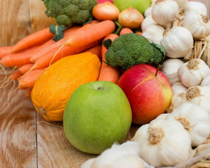 gesundes essen antioxidantien obst gemüse gute laune