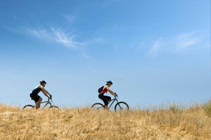 gesundes essen ausgewogene ernähreung fahrrad