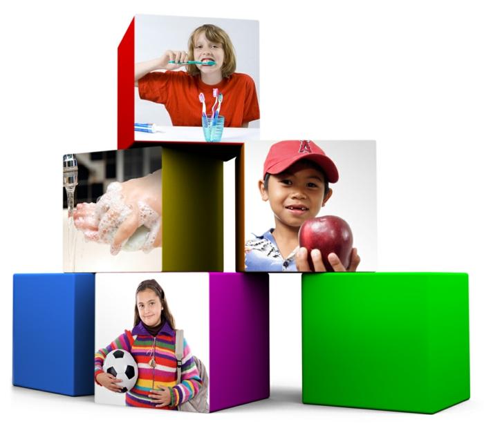 gesundes essen ausgewogene ernährung gute gewöhnheiten interaktive erziehung
