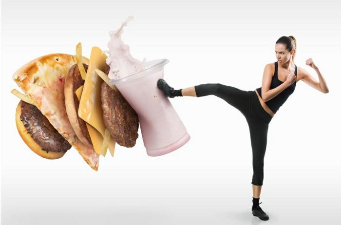 gesundes essen ausgewogene ernährung gute gewöhnheiten willen