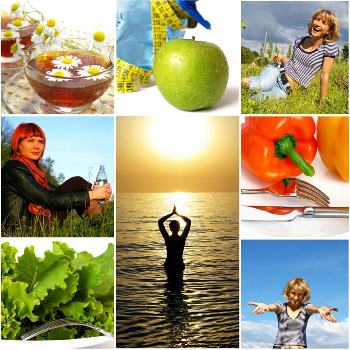gesundes essen ausgewogene ernährung gute gewöhnheiten