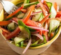 Ausgewogene Ernährung  geht mit einer bunten Diät ganz leicht
