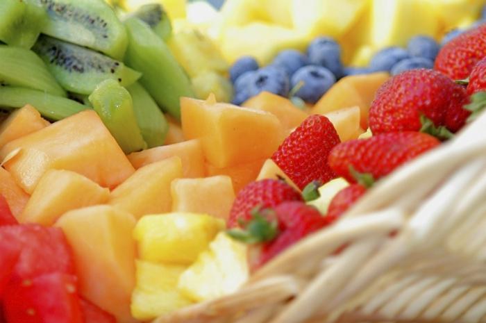 ausgewogene ernährung antioxidantien früchte