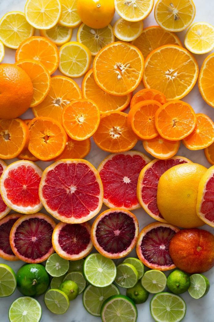 gesundes essen zitrusfrüchte abwechslungsreiche ernährung