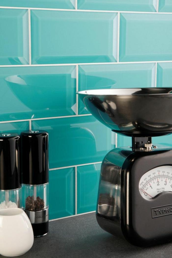 glasrückwand küche grüne fliesen wohnideen küche