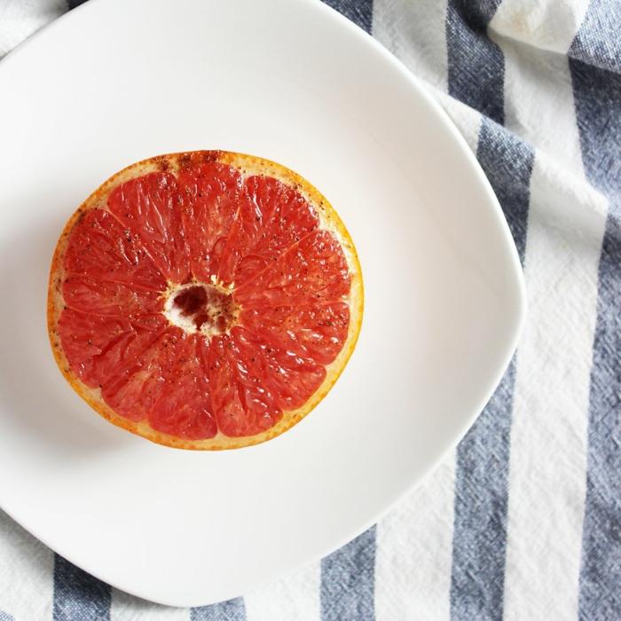 basische ernährung grapefruit pfeffer
