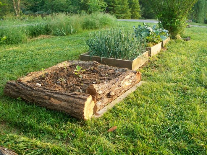 Hochbeete anlegen und die produktivit t im kleinen garten for Gartengestaltung rustikal