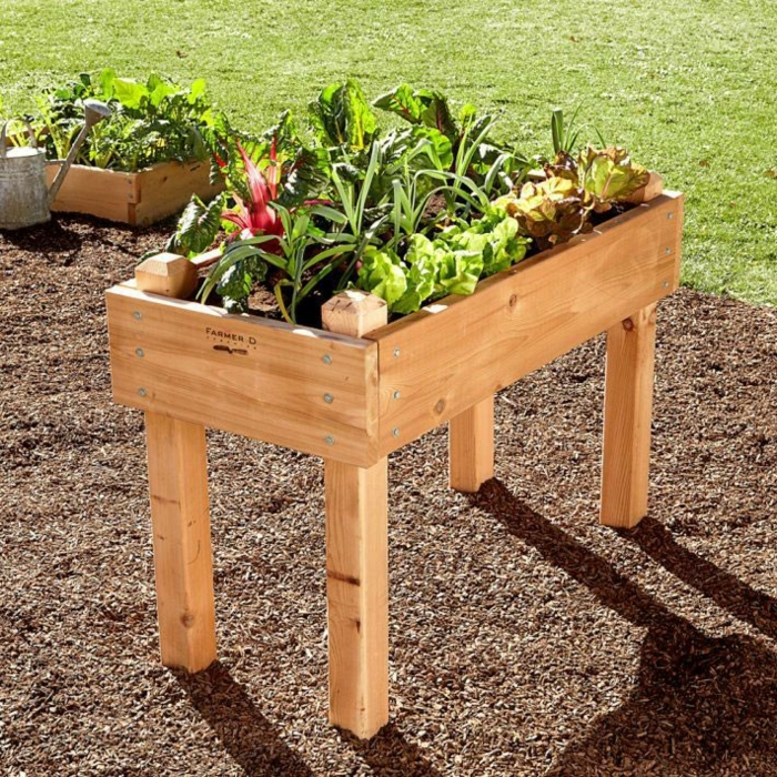 Hochbeete Ideen Fur Ihre Gartengestaltung Im Fruhling