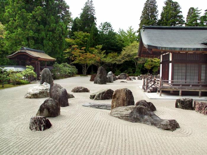 japanischer garten feng shui gartenhaus natursteine gartengestaltung