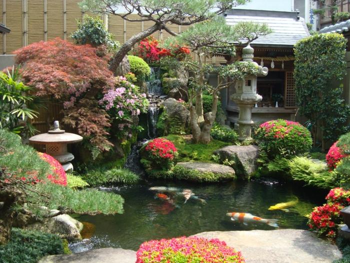 Ein japanischer garten gestalten praktische tipps und tricks for Fuentes de jardin baratas